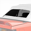 Replacement Convertible Rear Window Glass - White (83-93 All) - AM Restoration 215T-4902ST