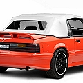 Replacement Convertible Top - White (91-93 All) - AM Restoration C247-4902ST