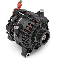 PAPerformance Alternator - 130 Amp Flat Black (99-04 GT) - PA Performance 2264FB