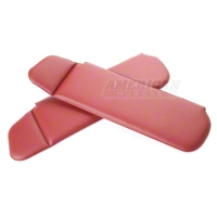 Vinyl Sun Visors - Convertible - Scarlet Red (83-93 All) - AM Restoration 069955-074
