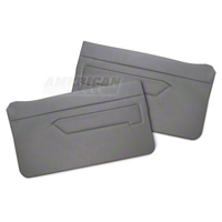 Replacement Door Panel Covers - Smoke Gray (83-93 All) - AM Restoration 070193-116SMOKE