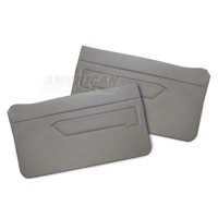 Replacement Door Panel Covers - Titanium Gray (90-92 All) - AM Restoration 070193-083TITANIUMGRAY