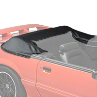 Convertible Top Boot - Black (90-93 All) - AM Restoration 069583-001BLACK