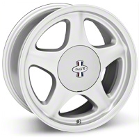Argent Silver Pony R Wheel - 17x8 (87-93; Excludes 93 Cobra)