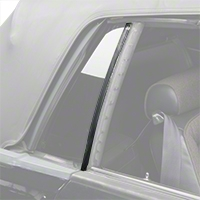 Quarter Window Vertical Weatherstrip Kit - Convertible (83-93 All) - AM Restoration KF1033