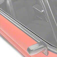 Inner Door Belt Weatherstrip Kit - Convertible (88-93 All) - AM Restoration KF2071