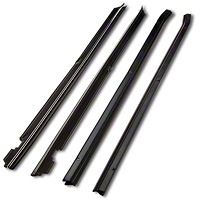 Inner And Outer Door Belt Weatherstrip Kit - Coupe/Hatchback (87-93 All) - AM Restoration KF2066