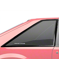 Quarter Window Molding Cover Kit - Hatchback (87-93 All) - AM Restoration KF4005