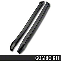 A-Pillar Post Weatherstripping Kit - Convertible (1987 All)