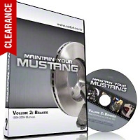 AutoHow.TV - Maintain Your Mustang Volume 2: Brakes (94-04 All) - AM Accessories MYMV2