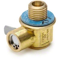 Quick-Drain Oil Change Valve (79-93 2.3L, 91-95 5.0L, 04-10 V6, 96-10 4.6L, 07-12 GT500) - AM Accessories F-106