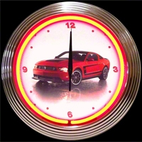 Boss 302 Neon Wall Clock - Neonetics 8FBOSS