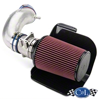 C&L Short RAM Intake w/76mm MAF Housing (94-95 GT, Cobra) - C&L 118