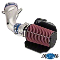 C&L Cold Air Intake w/ 80mm MAF (96-98 Cobra) - C&L 10696-PC