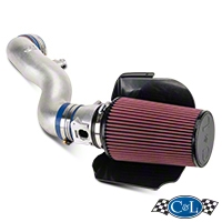 C&L Cold Air Intake w/ 82mm MAF (02-04 GT) - C&L 10699A-P