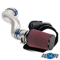 C&L Cold Air Intake w/ 82mm MAF (03-04 Mach 1) - C&L 10699M1-P