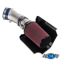 C&L Cold Air Intake w/ 95mm MAF (03-04 Cobra) - C&L 10699B-P