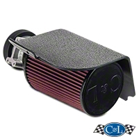 C&L Short RAM Intake w/73mm MAF Housing (94-00 V6) - C&L 117