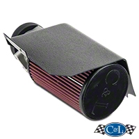 C&L Cold Air Intake (01-04 V6) - C&L Performance 117A