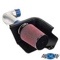 C&L Cold Air Intake w/ 83mm MAF (05-09 V6) - C&L 117-05-P