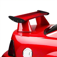 Trufiber Cobra R Style Rear Spoiler - Unpainted (99-04 All) - Trufiber TF10023-DCA34