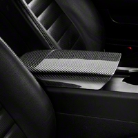Carbon Fiber Arm Rest Cover (05-09 All) - AM Interior TC10024-LG38