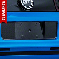 Carbon Fiber License Plate Panel (13-14 All) - AM Exterior TC10025-LG148
