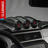 Carbon Fiber Gauge Pod (10-14 All) - AM Interior TC10025-LG105