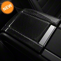 Carbon Fiber Arm Rest Cover & Extension (10-14 All) - AM Interior TC10025-LG121