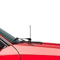 Fixed Black Antenna - 8 inch (79-93 All) - Modern Billet 99002