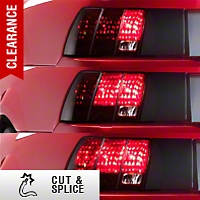 Sequential Tail Light Kit - Cut-and-Splice (96-04 All; Excludes 99-01 Cobra) - AM Lights 99021||99021