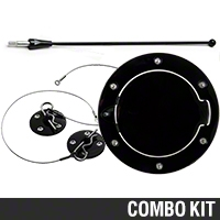 Exterior Blackout Kit (94-04 All) - AM Exterior 11055||HOO-01-BK||24034||SR-FUD-94-BK||99002||ANT-8-BK