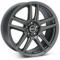 Charcoal Boss Laguna Seca Style Wheel - 19x9 (05-14 All)