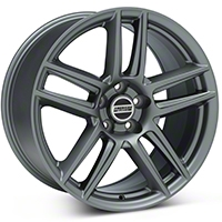 Laguna Seca Style Charcoal Wheel - 19x10 (05-14 All) - American Muscle Wheels 12291656