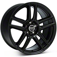 Laguna Seca Style Black Wheel - 19x10 (05-14 All) - American Muscle Wheels 12291652