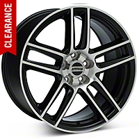 Laguna Seca Style Black Machined Wheel - 19x10 (05-14 All) - American Muscle Wheels 99225