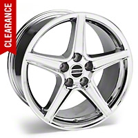 Saleen Chrome Wheel - 19x8.5 (94-04 All) - American Muscle Wheels 99261G94