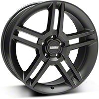 2010 GT500 Matte Black Wheel - 19x8.5 (05-14 All) - American Muscle Wheels R1-986530MB