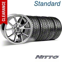 FR500 Style Chrome Wheel & NITTO Tire Kit - 18x9 (05-14) - American Muscle Wheels 10048||63008||KIT