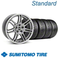 Anthracite 10th Anniversary Style Wheel & Sumitomo Tire Kit - 17x9 (05-13 All)