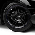 WheelBands Kit - Black w/ Royal Blue Insert (79-14 All) - American Muscle Wheels WB-RB-BU