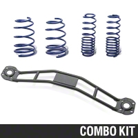 SR Performance Strut Tower Brace & Lowering Spring Kit - Black (05-14 GT, V6) - SR Performance 41143||383959