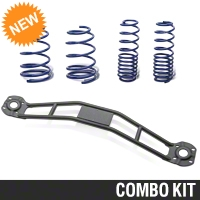 SR Performance Strut Tower Brace & Lowering Spring Kit - Black (05-14 GT, V6) - SR Performance 41143||53151