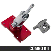 Shifter and Bracket - MT-82 (11-14 GT, V6) - AM Drivetrain 64100||64101