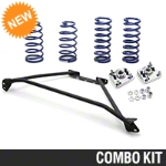 SR Performance Strut Tower Brace & Lowering Spring Kit - Black (94-04 GT) - SR Performance 41142||41293||53150