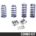 SR Performance Caster Camber Plate & Lowering Spring Kit (94-04 GT, Mach 1, 94-98 Cobra) - SR Performance 53150