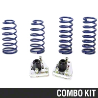 SR Performance Caster Camber Plate & Lowering Spring Kit (79-93 V8) - SR Performance 53150||56186