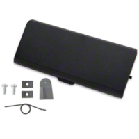 Ash Tray Door and Repair Kit - Black (87-93 All) - AM Restoration 1000-108||12169||95600||E7ZZ-6104786-BK