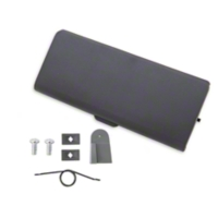Ash Tray Door and Repair Kit - Smoke Gray (87-93 All) - AM Restoration 1000-108||12168||95600||E7ZZ-6104786-GY