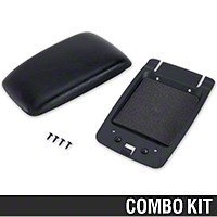 Center Console Arm Rest Kit - Black (87-93 All) - AM Restoration 87232||94366||94389